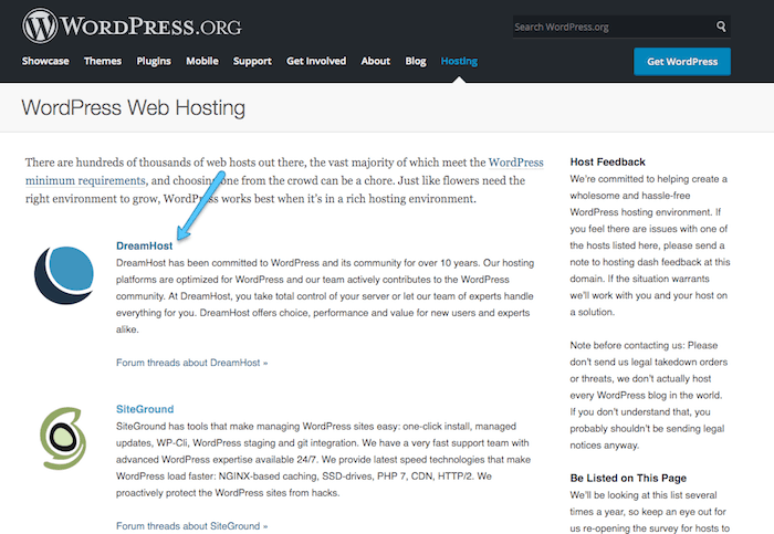 Dreamhost Link Local WordPress To WordPress.Com